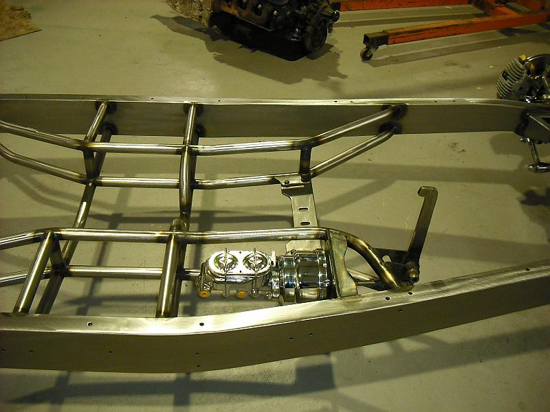 1935 40 Chassis Lewis Chassis Works